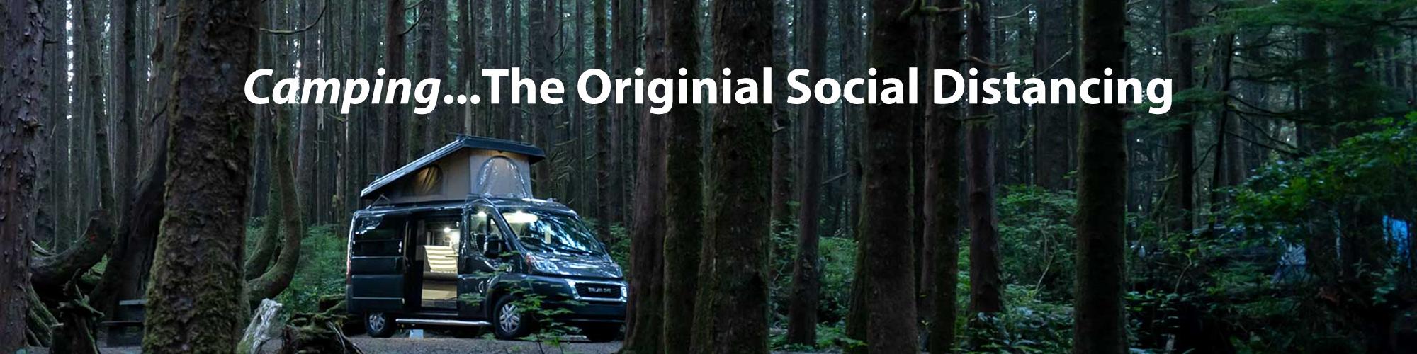 Camping the Original Social Distancing